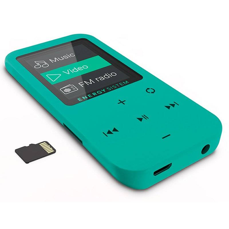 Energy Sistem Reproductor MP4 Touch 8GB Menta - Imagen 3