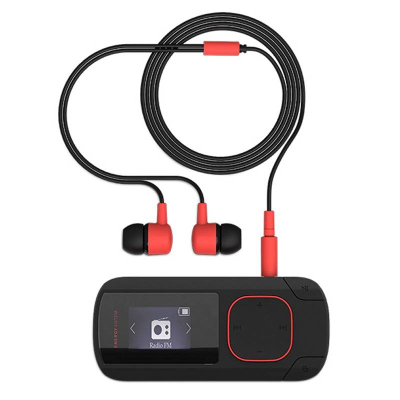 Energy Sistem MP3 Clip Bluetooth 8GB Radio Coral - Imagen 2