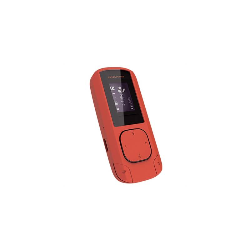 Energy Sistem MP3 Clip 8GB Radio SD Coral - Imagen 1