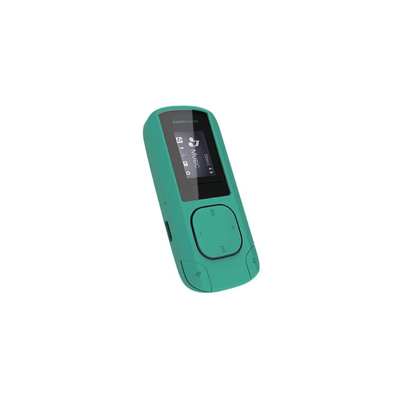 Energy Sistem MP3 Clip 8GB Radio SD Menta - Imagen 1