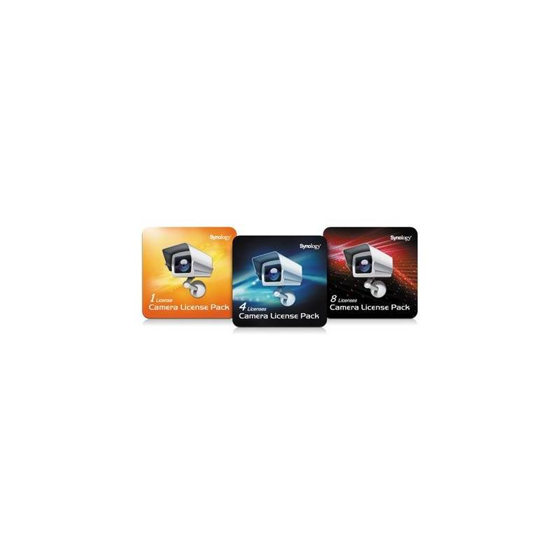 SYNOLOGY Camera License Pack (1 Licencia) - Imagen 1