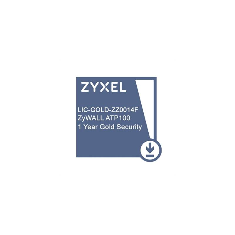 ZyXEL Licencia GOLD ATP100 Security Pack 1 Año - Imagen 1