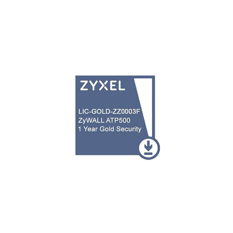 ZyXEL Licencia GOLD ATP500 Security Pack 1 Año - Imagen 1