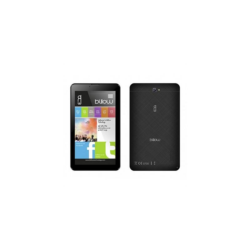 "Billow Tablet 7""  X703B QC 8GB 1GBDDR3 3G A8.1 Neg - Imagen 1"