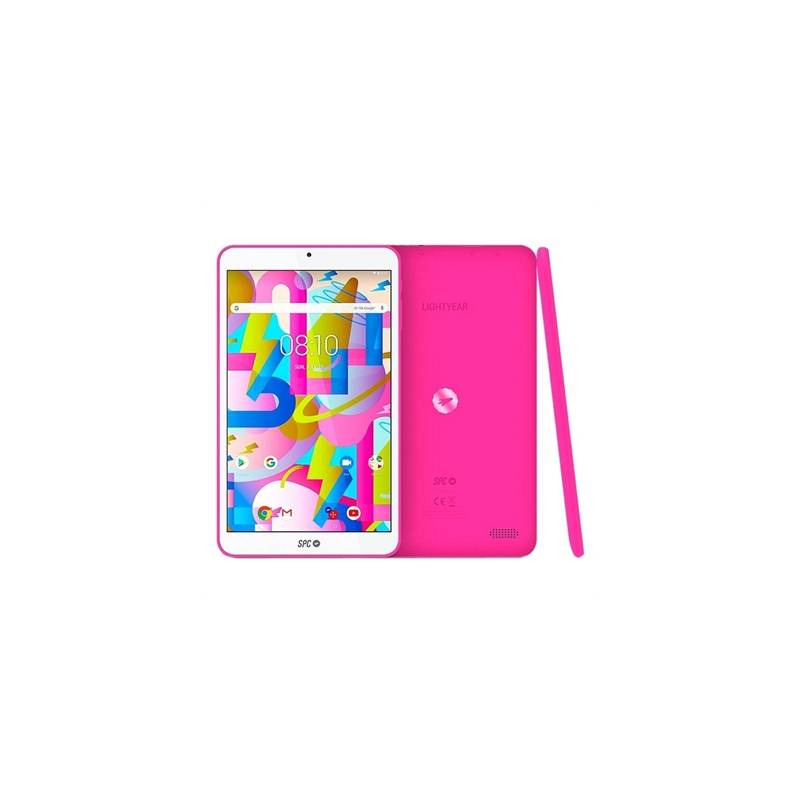 "SPC Tablet  8"" IPS HD QC 2GB RAM 16GB Interna Rosa - Imagen 1"
