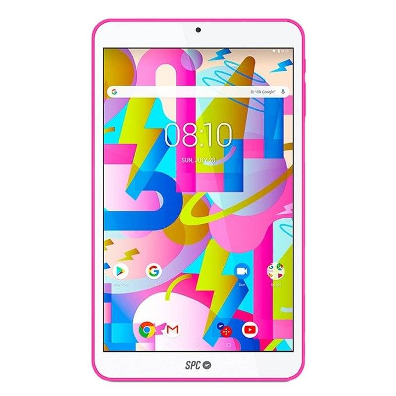 "SPC Tablet  8"" IPS HD QC 2GB RAM 16GB Interna Rosa - Imagen 2"
