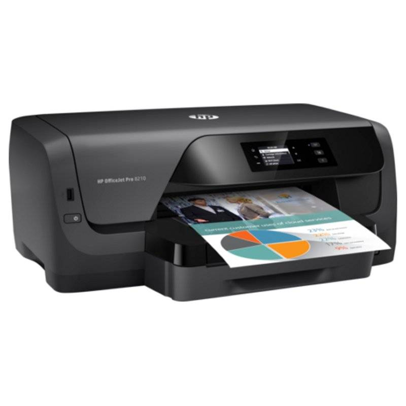 HP Impresora Color Officejet Pro 8210 Duplex Red - Imagen 2