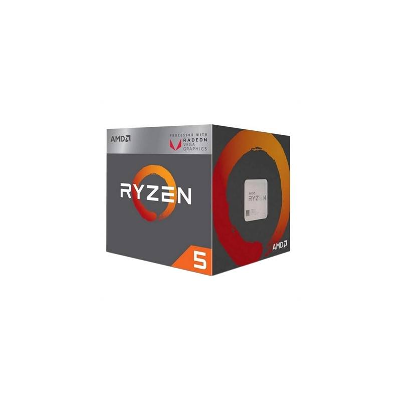 AMD RYZEN 5 3400G 3.7GHz 6MB 4 CORE AM4 BOX - Imagen 1