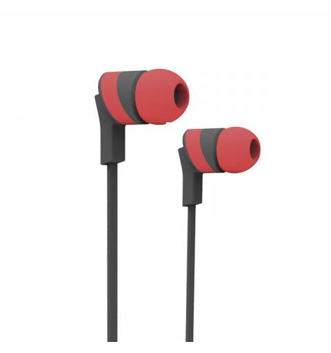 X-One ASBT1000R Auriculares Bluetooth +microf Rojo - Imagen 2
