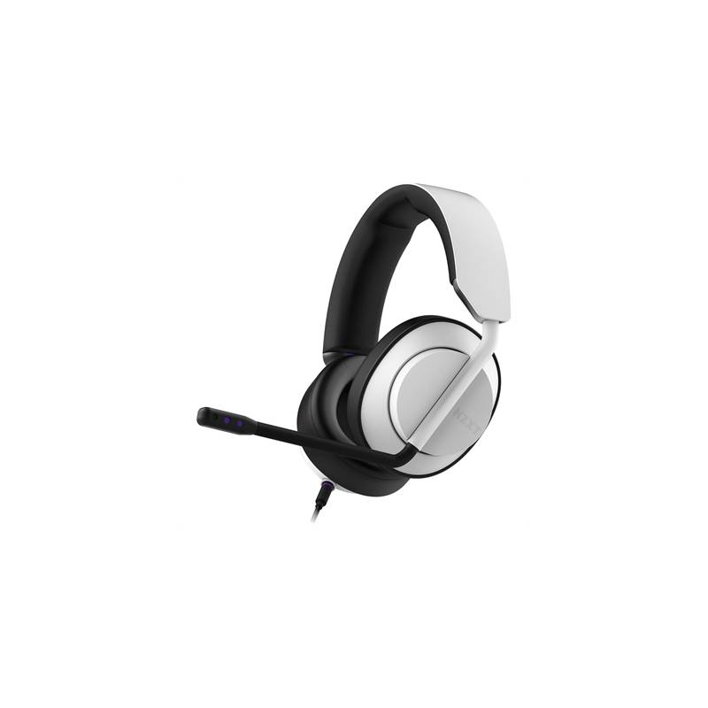 NZXT Auricular AER Close Wired Stereo Blanco - Imagen 1